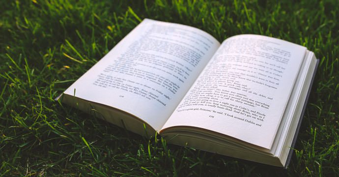 book-on-the-grass